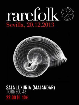 Concierto: RareFolk en la Sala Malandar Sevilla