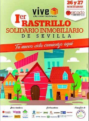 I Rastrillo solidario inmobiliario de Sevilla 2016