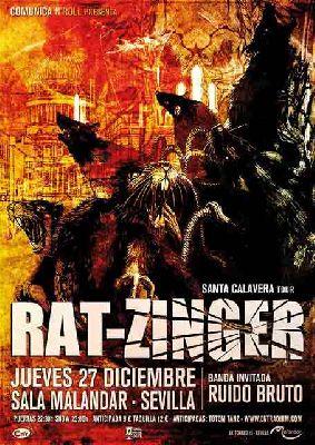 Concierto: Rat-Zinger y Ruido Bruto en Malandar Sevilla 2018
