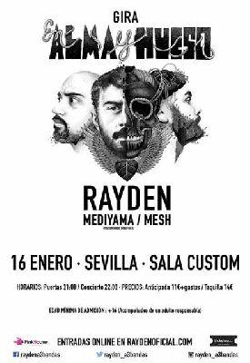 Concierto: Rayden en Custom Sevilla 2016