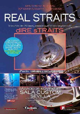 Concierto: Real Straits en Custom Sevilla (noviembre 2016)