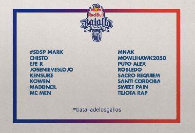 Semifinal de la Red Bull Batalla de los Gallos en el CAAC Sevilla 2018