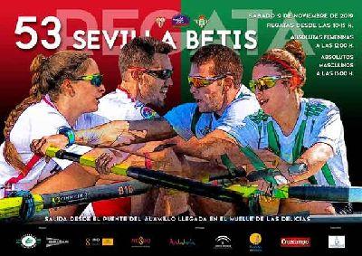 Cartel de la 53 Regata Sevilla - Betis 2019