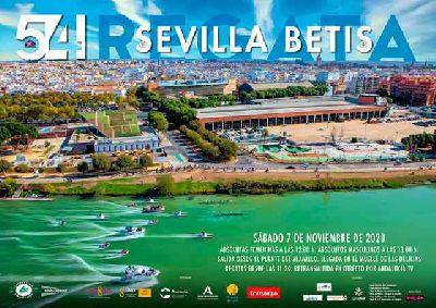 Cartel de la 54 Regata Sevilla - Betis 2020