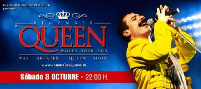 Concierto: Remember Queen World Tour 2015 en Custom Sevilla