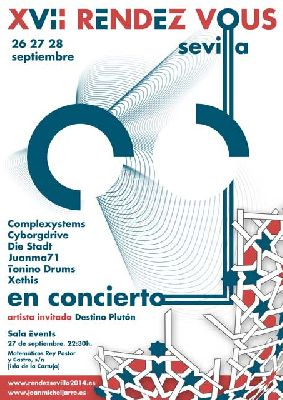 Concierto: XVII Rendez Vous 2014 en la Sala Events de Sevilla