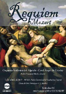 Concierto: Requiem de Mozart en Cajasol Sevilla
