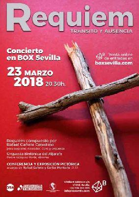 Concierto: Requiem, tránsito y ausencia en Espacio Box Sevilla 2018