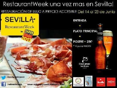 Restaurant Week Sevilla 2013