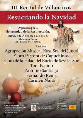 Concierto: III Resucitando la Navidad en la Sala Turina de Sevilla