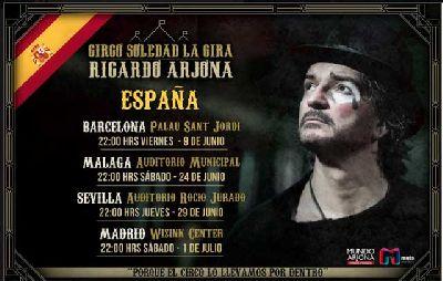 Concierto: Ricardo Arjona en el Auditorio Rocío Jurado de Sevilla