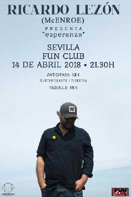 Concierto: Ricardo Lezón en FunClub Sevilla