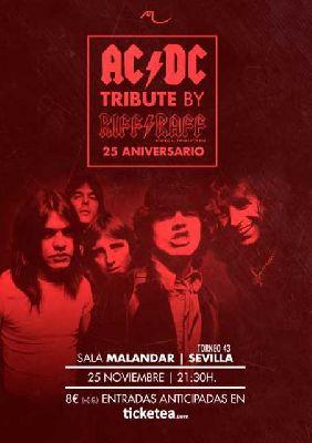 Concierto: Riff Raff en Malandar Sevilla 2017