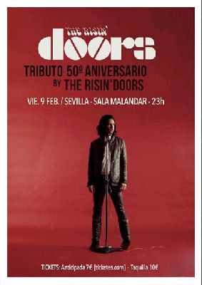 Concierto: The Risin' Doors (tributo a The Doors) en Malandar Sevilla