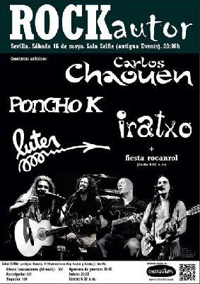 Concierto: Chaouen, Poncho K, Iratxo y Luter en Selfie Sevilla
