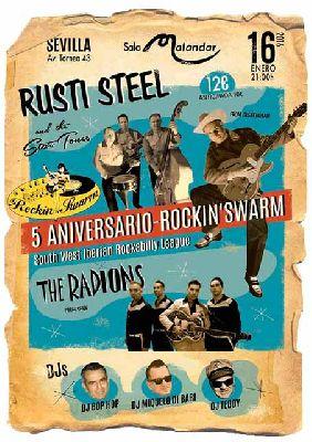 Concierto: 5º aniversario de Rockin' Swarm en Malandar Sevilla