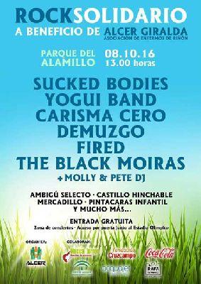 Rock solidario pro Alcer Giralda en el parque del Alamillo de Sevilla