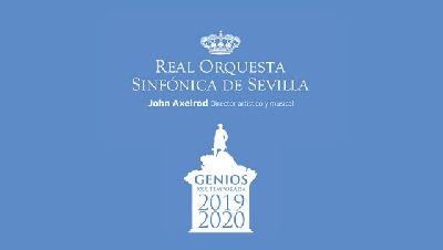 Cartel de la temporada 2019-2020 de la Real Orquesta Sinfónica de Sevilla (ROSS)