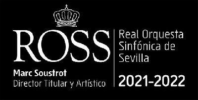 Cartel de la temporada 2021-2022 de la Real Orquesta Sinfónica de Sevilla (ROSS)