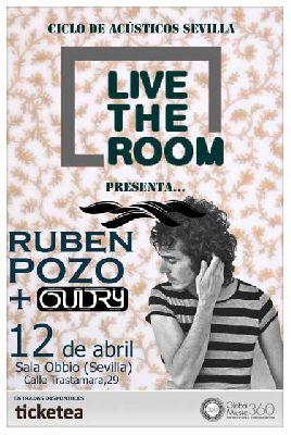 Concierto: Rubén Pozo (ex Pereza) en Live the Room Sevilla