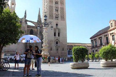 Foto de una ruta de GuruWalk por Sevilla