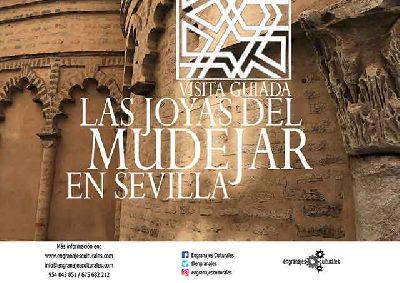 Cartel de la ruta Las joyas del mudéjar en Sevilla