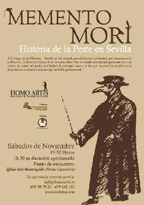 Ruta teatralizada sobre la Historia de la Peste en Sevilla