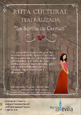 Ruta teatralizada La Sevilla de Carmen de Perfiles de Sevilla