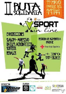 II Ruta Solidaria sobre patines Sport in line Sevilla