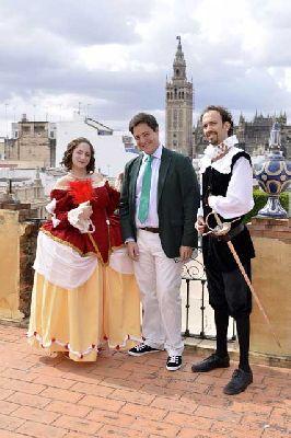 Visitas teatralizadas al parque de María Luisa de Sevilla