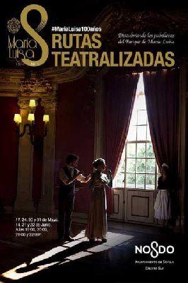 Visitas teatralizadas al Parque de María Luisa de Sevilla (2014)