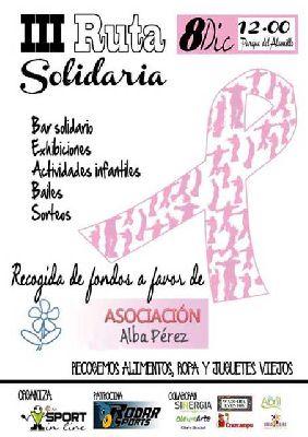 III Ruta Solidaria sobre patines Sport in line en el Alamillo