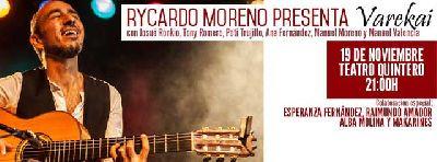 Concierto: Rycardo Moreno presenta Varekai en el Teatro Quintero de Sevilla