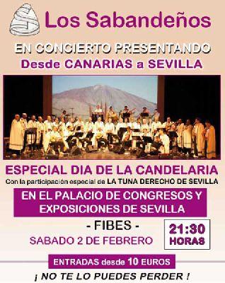 Concierto: Los Sabandeños en Sevilla 2013 (Fibes)