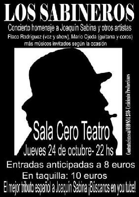 Concierto: Los Sabineros en la Sala Cero de Sevilla
