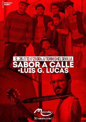 Concierto: Sabor a Calle y Luis G Lucas en Malandar Sevilla 2015