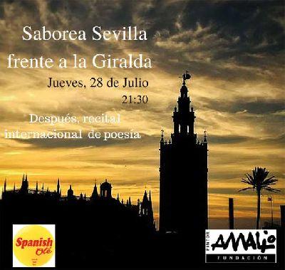 Actividad Saborea Sevilla en la Fundación Amalio de Sevilla