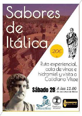 Ruta: Sabores de Itálica por La Odisea de la Historia en Sevilla