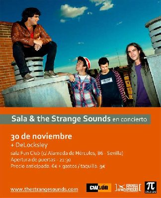 Concierto: Sala and the Strange Sounds (FunClub)