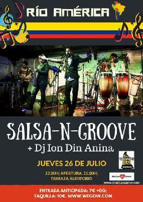 Concierto: Salsa-n-Groove en la Terraza Auditorio Rocío Jurado de Sevilla