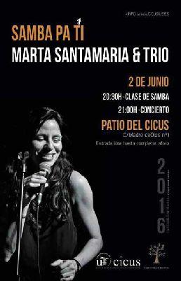 Concierto: Samba pa tí en el CICUS Sevilla