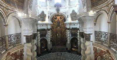 Visitas a la iglesia de San Luis de los Franceses de Sevilla