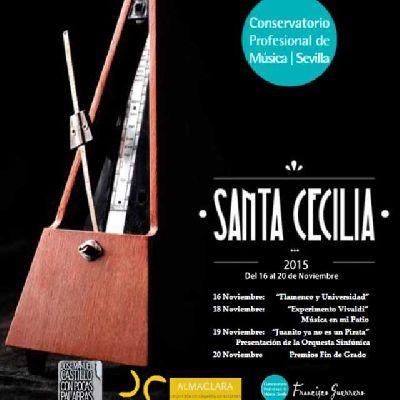 Ciclo de Santa Cecilia 2015 del CPM Francisco Guerrero de Sevilla