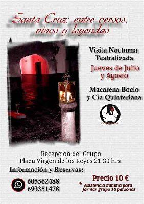 Ruta Santa Cruz; entre versos, vinos y leyendas en Sevilla