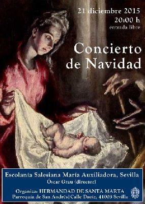 Concierto de Navidad en la iglesia de San Andrés de Sevilla 2015