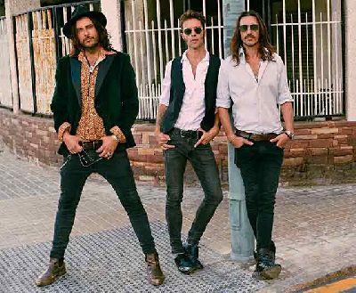 Foto promocional del grupo Santero y Los Muchachos