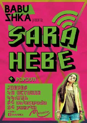 Concierto: Sara Hebe en Malandar Sevilla