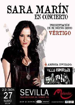 Concierto: Sara Marín en Malandar Sevilla (mayo 2016)