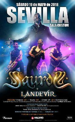 Concierto: Saurom y Lándevir en Custom Sevilla 2018
