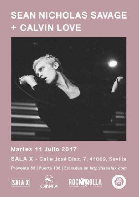 Concierto: Sean Nicholas Savage y Calvin Love en la Sala X de Sevilla